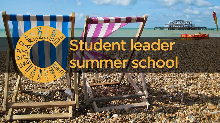 Student leader online summer school 2021
