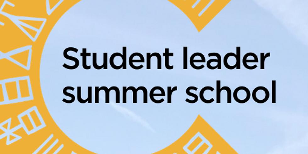 Student leader online summer school 2020