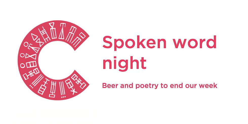 Spoken word night