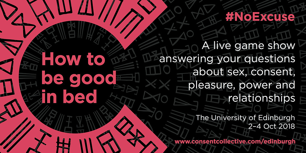 How to be good in bed (2nd Oct)