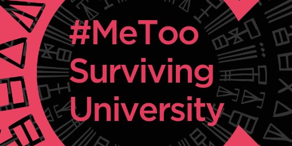 #MeToo Surviving University