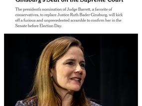 新提名的法官若上任,将使美国最高法院倾向保守派,移民等判例被推翻的风险将增加