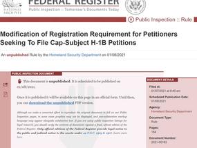 移民局最新消息:H-1B抽签机制或将执行以工资为标准的抽签