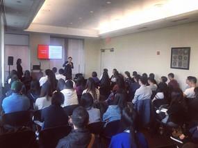 纽约贾律师联合NYU台湾学生会为台湾同学成功举办留学生法律知识讲座