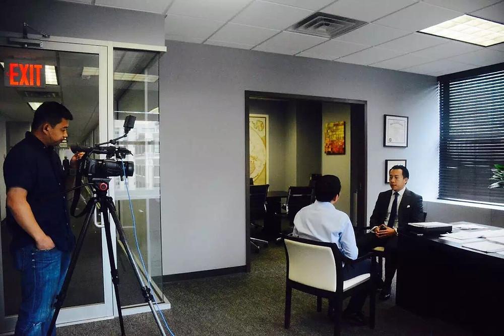 CCTV-2 Interview-EB5 program