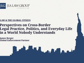 Perspectives on Cross-Border Legal Practice,Politics,and Everyday Life in a World Nobody Understands