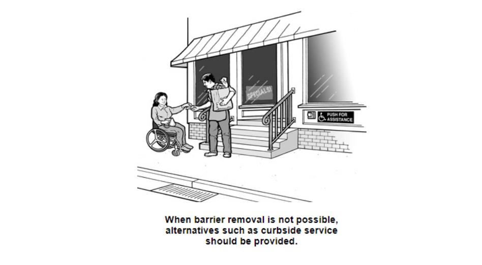 残疾人法案-消除物理障碍