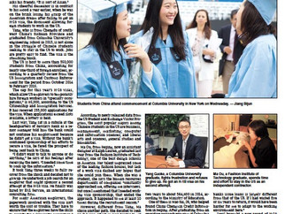 Jason Jia shared his experience on work visa petitions with The Shanghai Daily News