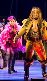 The Lion (Soloman Howard) and Animal Ensemble