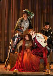 Ariadne (Christine Goerke) and the Comedians