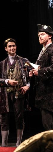 The Vicomte (Paul Hester) and Azolan (Edward McCreery)