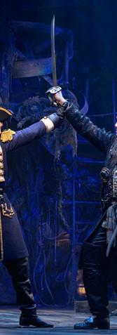 Lt. Robert Maynard and Blackbeard