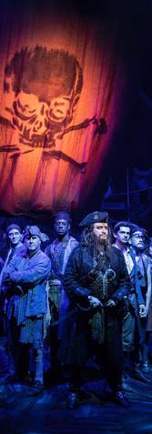 Blackbeard and his Crew