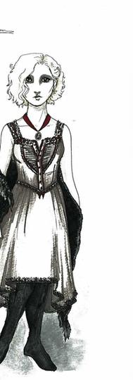 Senta in her Nightgown