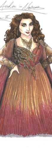 Ariadne Show Costume