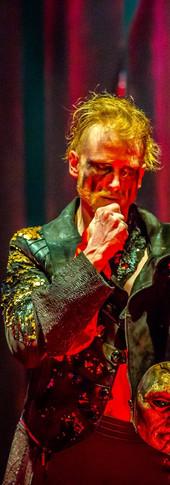 Frollo (Phillip Fletcher) unmasked
