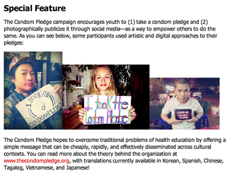 Feature on Youth, the Arts, HIV and AIDS Network