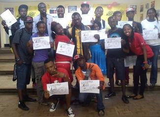 Integrating The Condom Pledge into Step Up 2 HIV
