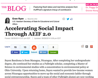 Mention in The Huffington Post!