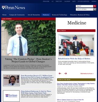 Feature in Penn News