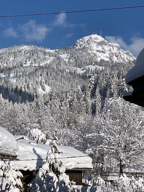 Wendelstein im Winter