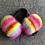 Thumbnail: Womens Fluffy Sliders