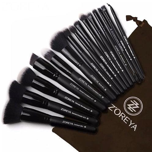 Zoreya Makeup Brushes Set 15 pcs