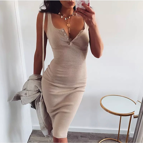 Forever Beauty Midi Dress