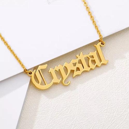 Pendant Custom Necklace
