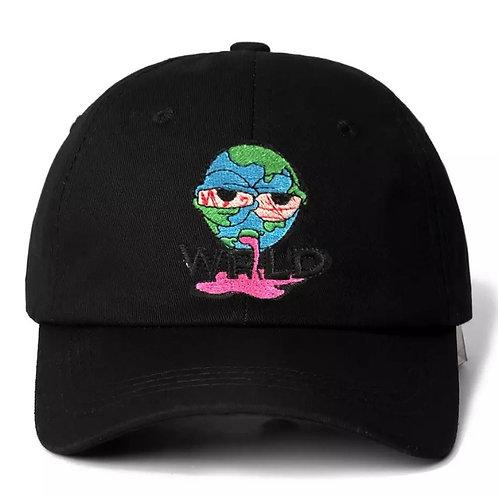 """Sick world"" cap"