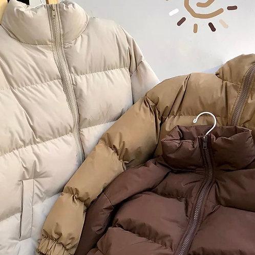 Earthy puffer jacket