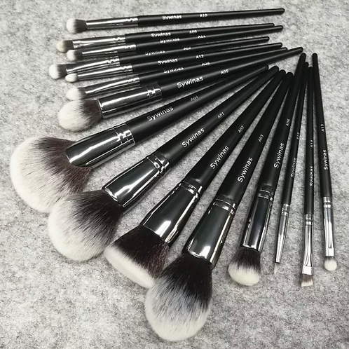 Sywinas Makeup Brush Set 15pcs