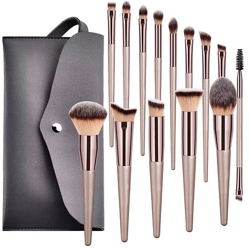 """Pearl"" Makeup Brush Set 14pcs"