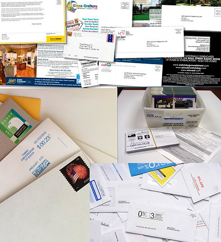 Retail Print / Direct Mail, Database & List Services