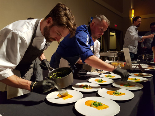 Chef Marc-Andre Dubois Gold Medal Plates