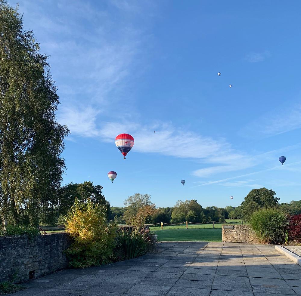 Taking part in the 2019 Longleat Balloon Festival