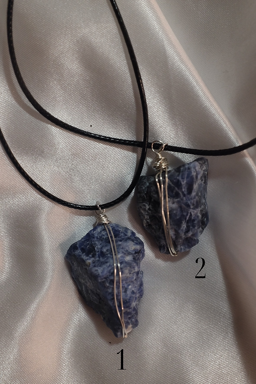 Sodalite Protector Necklace