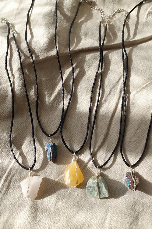 """Protector Necklaces (20"""" black cord)"""