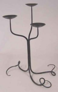 Vine with Dish Candelabra