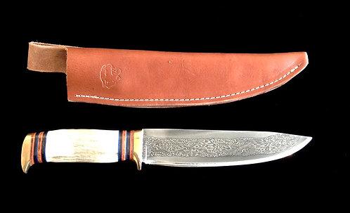 Eric Clasuen Damascus Knife