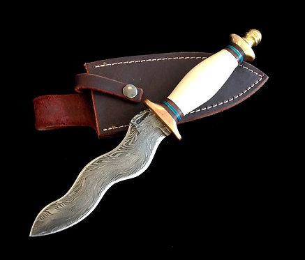 Eric Clausen Damascus Knife