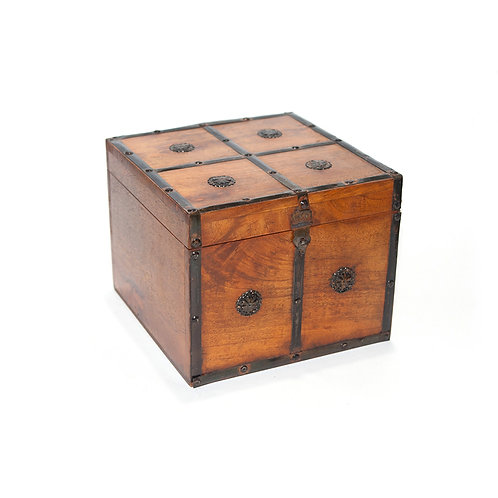 Square Timber Box
