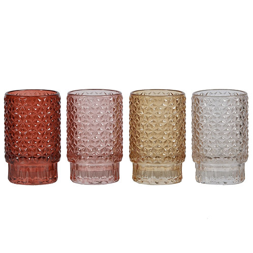 Sunset Textured Votives set 4