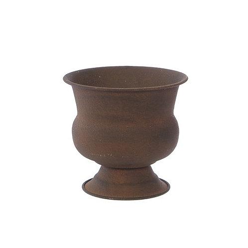 Rustic Metal Urn