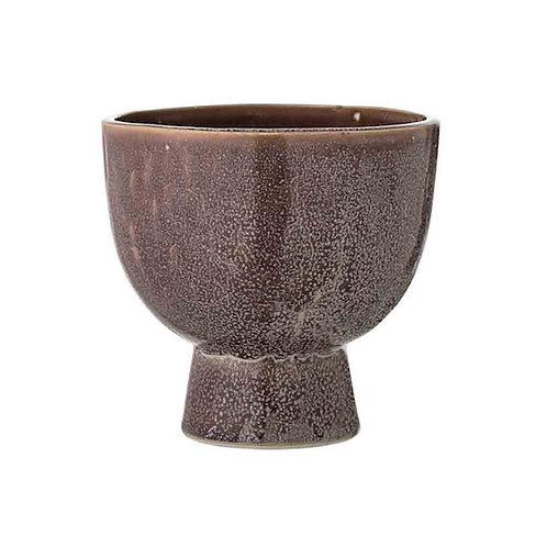 Antique Rose Ceramic Pot