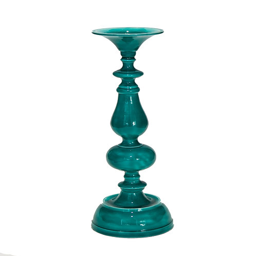 Emerald Candlestick Holder