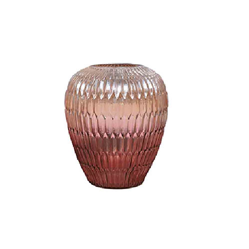 Ruby Ombre Vase