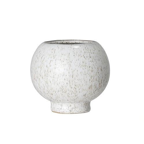 Ceramic Round Fleck Pot