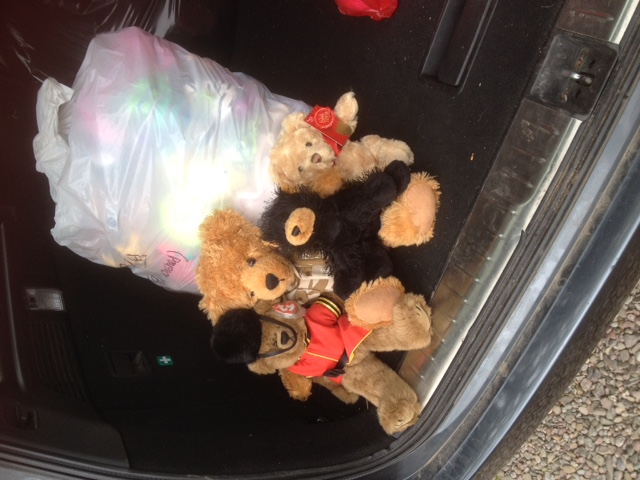 20180512 These teddies came from St Albans with Jen today