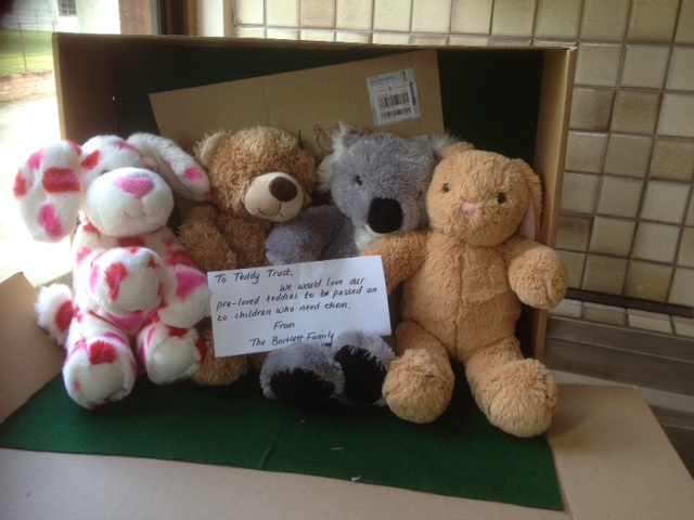 20180620 More gorgeous bears sent by the Bartlett family. Thank you so much